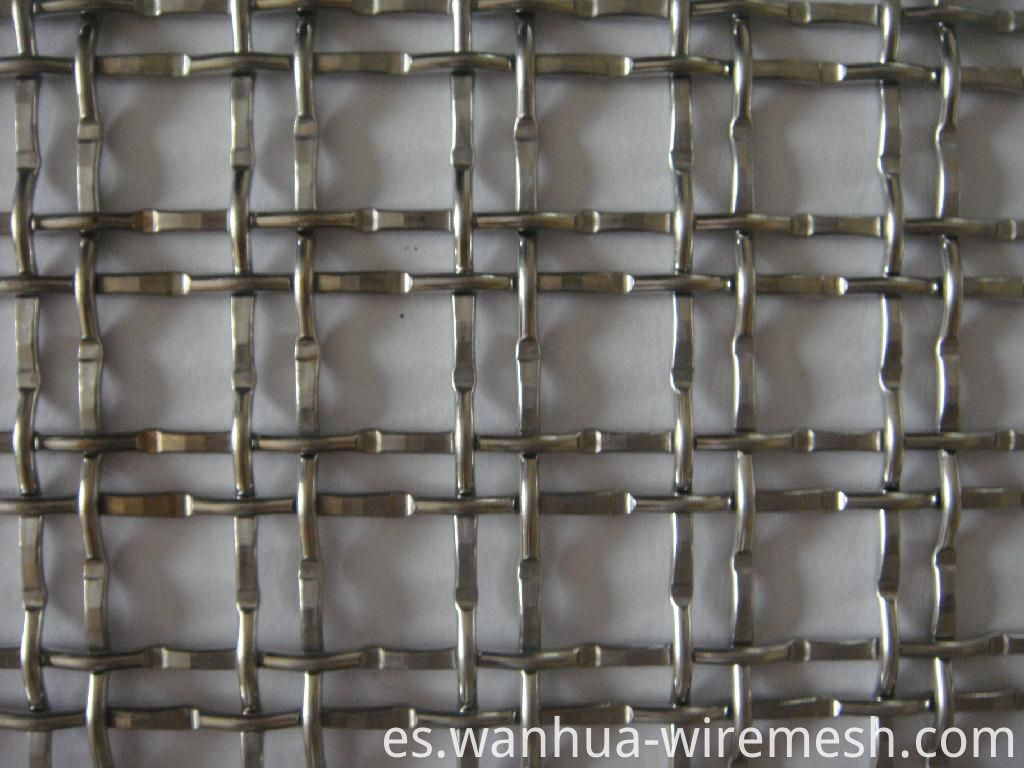Decorative SS304 Crimped Wire Mesh